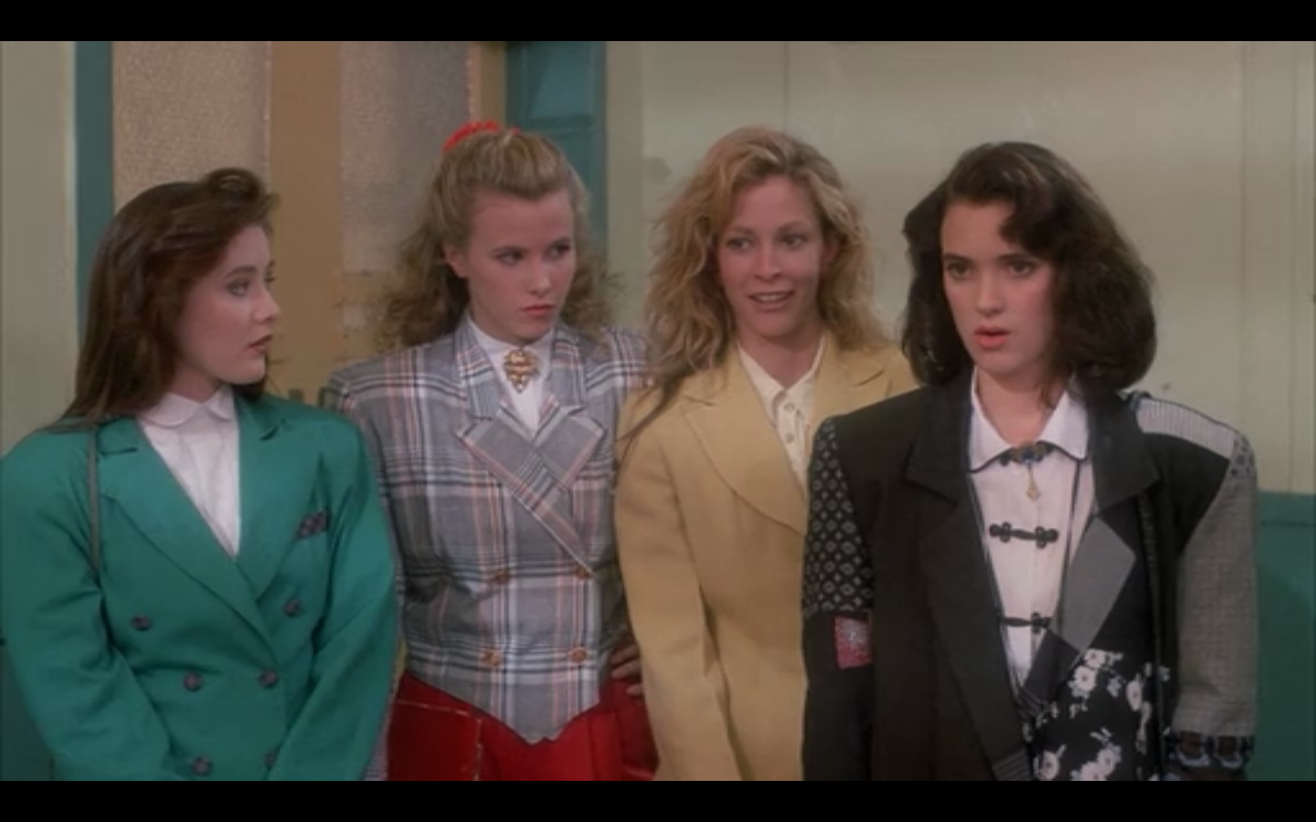 Fashion In Film Heathers 1988 The Native Transplant